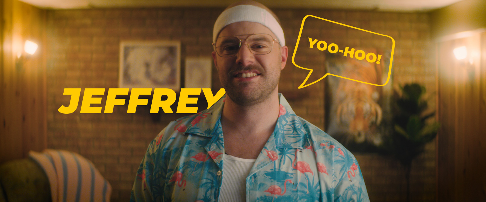 Yoo-hoo it's me, Jeffrey