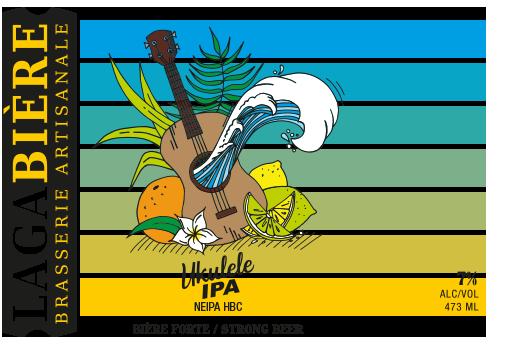 étiquette Ukulélé HBC 472 & 692
