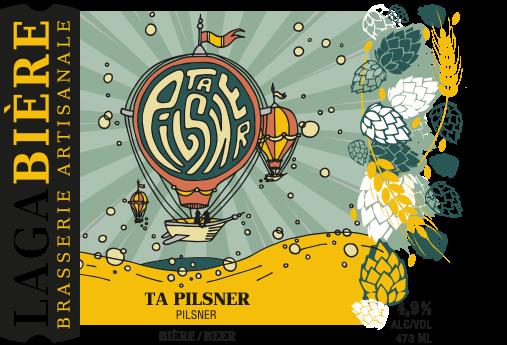 étiquette Pilsner