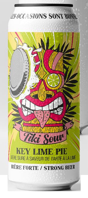 Tiki Sour Key lime pie