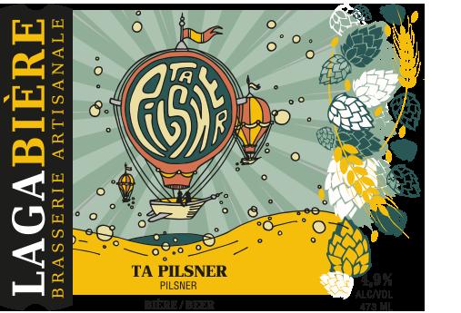 étiquette Ta Pilsner