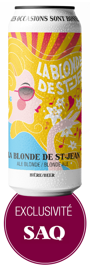 La Blonde de St-Jean / SAQ